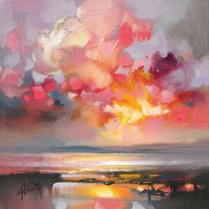 'Rose Cumulus Study I' Print on Canvas by East Urban Home