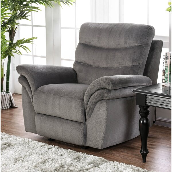 Jarman Manual Recliner by Alcott Hill