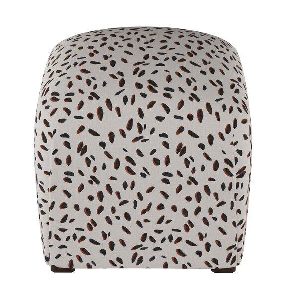 Marksbury Cube Ottoman by Wrought Studio