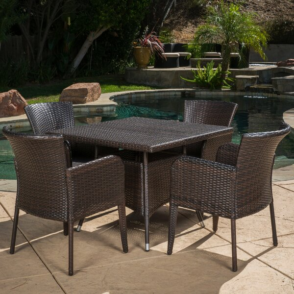Jad 5 Piece Dining Set by Ivy Bronx