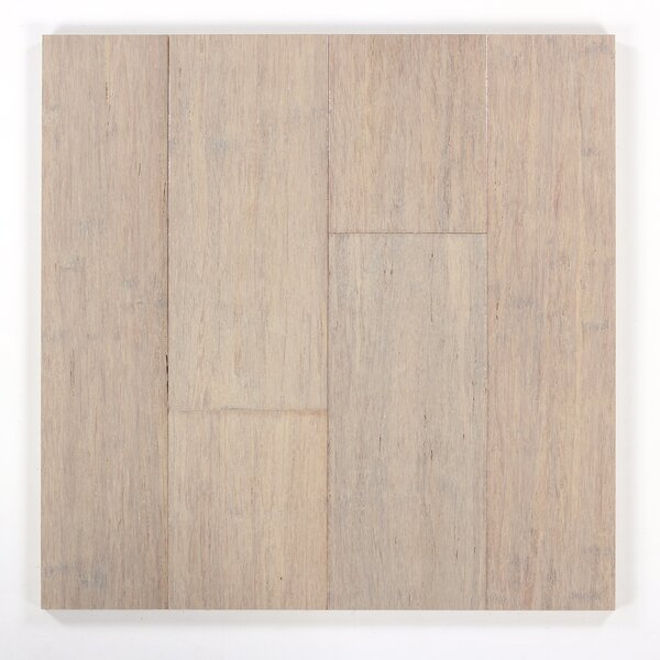 5 Engineered Bamboo Flooring in Ivory by Bamboo Hardwoods