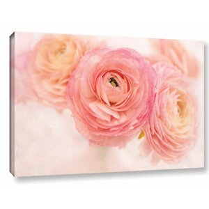 Stylish Flowers Photographic Print on Wrapped Canvas by Lark Manor
