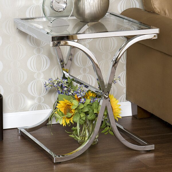 Chacon End Table by Orren Ellis