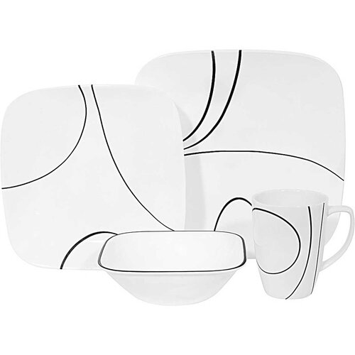 Edgware 16 Piece Dinnerware Set Brayden Studio