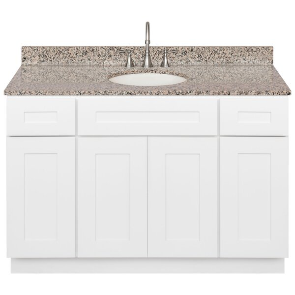 Strauch 48 Single Bathroom Vanity Set by Winston Porter