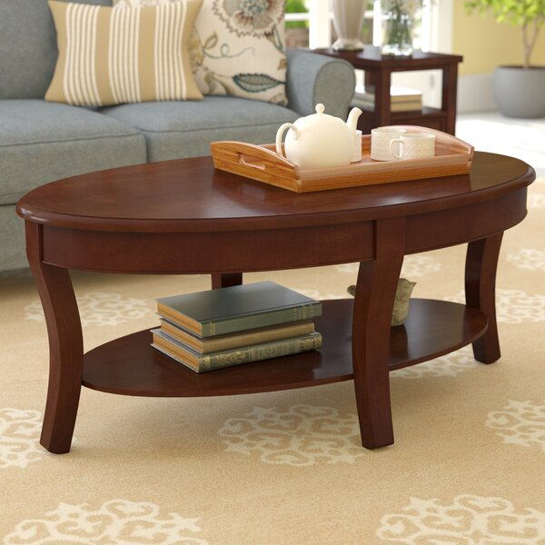 Swarthmore Coffee Table With Storage By Charlton Home