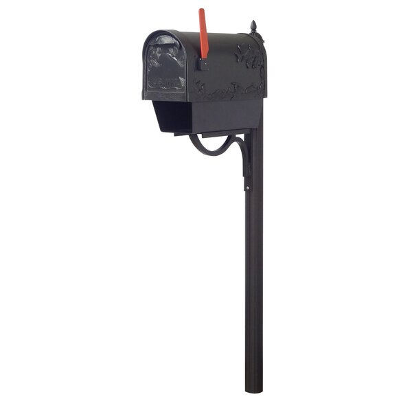 Hummingbird Curbside Locking Mailbox and Richland Locking  Post Included by Special Lite Products