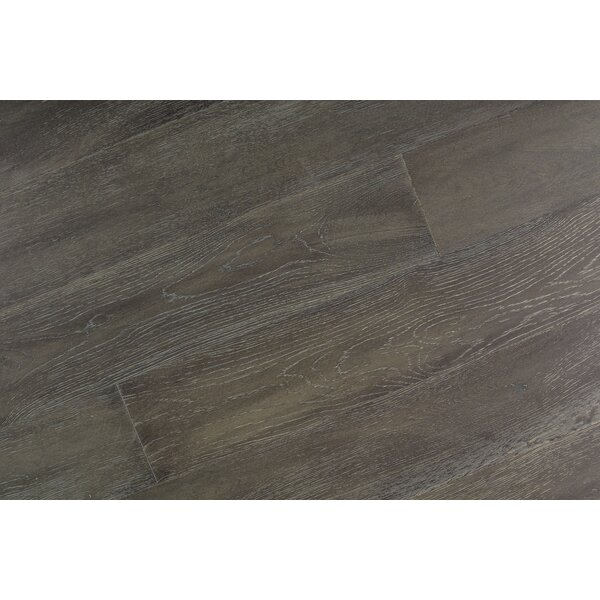 Abdi 7-1/2 Engineered Oak Hardwood Flooring in Gray by Albero Valley