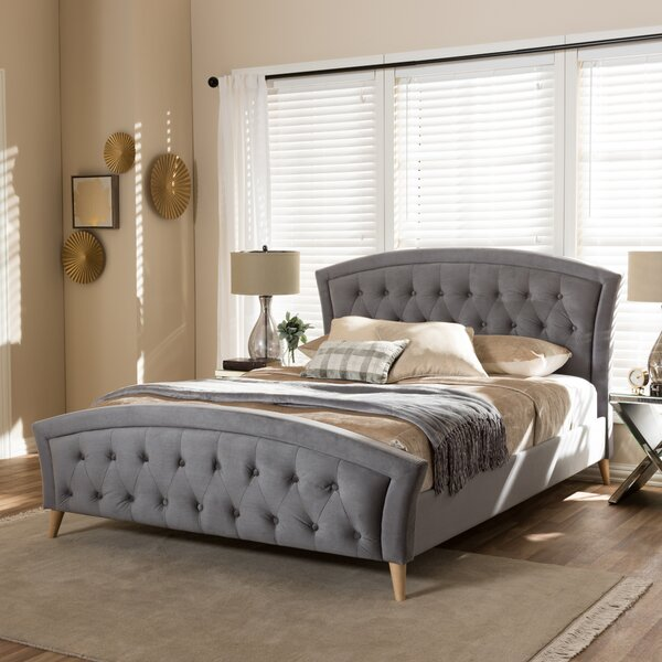 Duong Upholstered Platform Bed by Modern Rustic Interiors