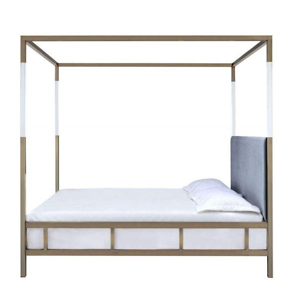 Cassell Queen Canopy Bed by Everly Quinn