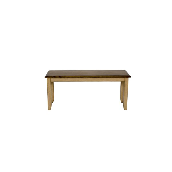Huerfano Valley Wood Bench by Loon Peak