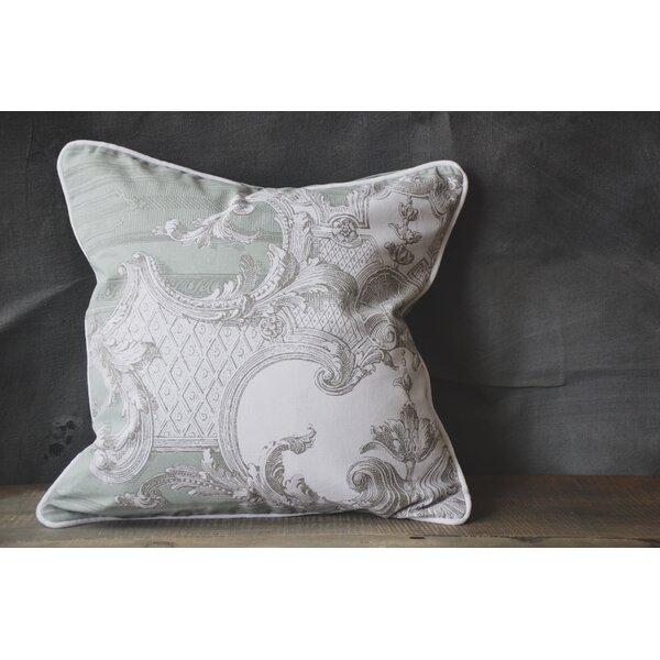 Patina Vie Renaissance Linen Throw Pillow by Patina Vie