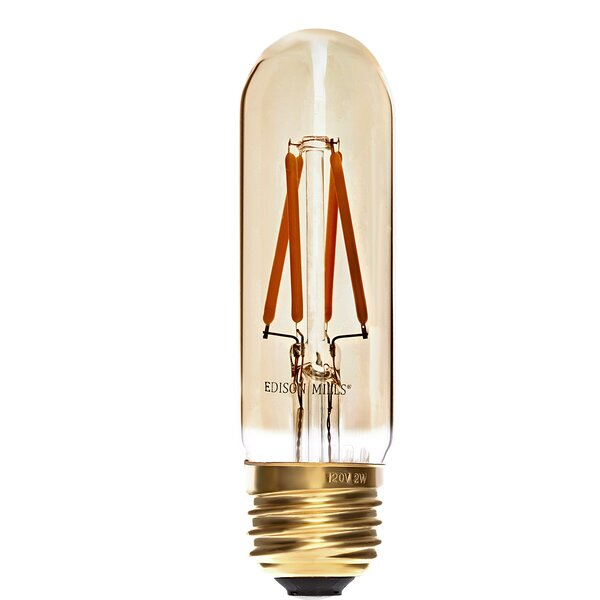 40W E12 LED Vintage Filament Light Bulb by Edison Mills