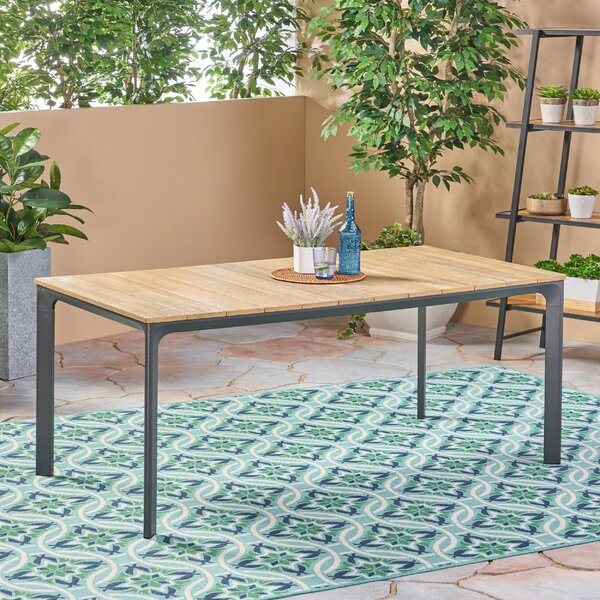 Nydia Wooden Dining Table by Ivy Bronx
