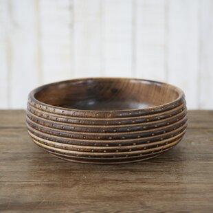 Fair Trade Carved Wooden Fruit Bowl & Wood Decorative Plates \u0026 Bowls   Wayfair.co.uk