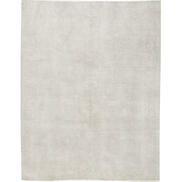 One-of-a-Kind Hand-Knotted Wool Ivory Area Rug by Bokara Rug Co., Inc.