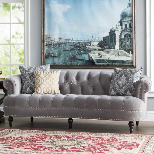 Mowry Chesterfield Sofa by House of Hampton