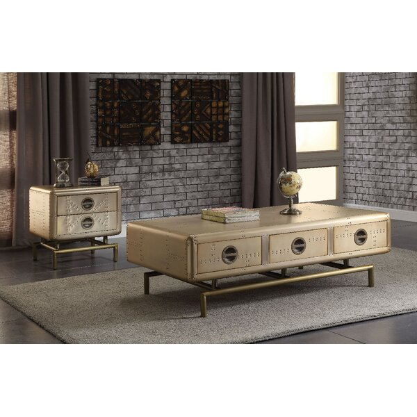 Rogni 2 Piece Coffee Table Set by Williston Forge Williston Forge