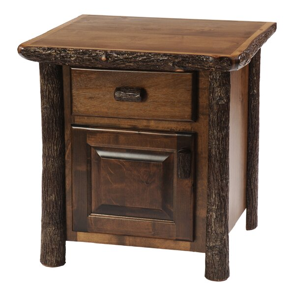 Cleary 1 Drawer Nightstand by Loon Peak