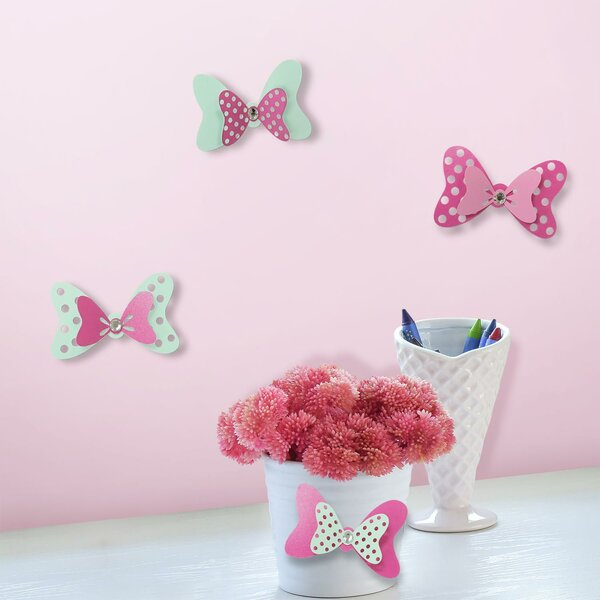 Disney Minnie Mouse Bow Embellishments Wall Decal by Room Mates