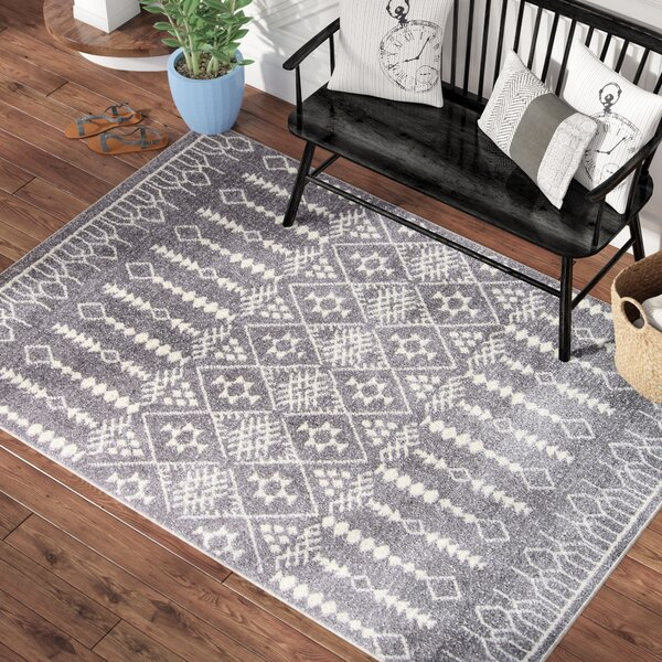 Rundell Gray Area Rug by Laurel Foundry Modern Farmhouse