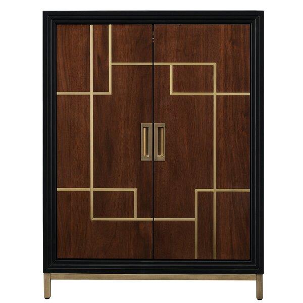 Geraldina Wine 2 Door Accent Cabinet by Mercer41