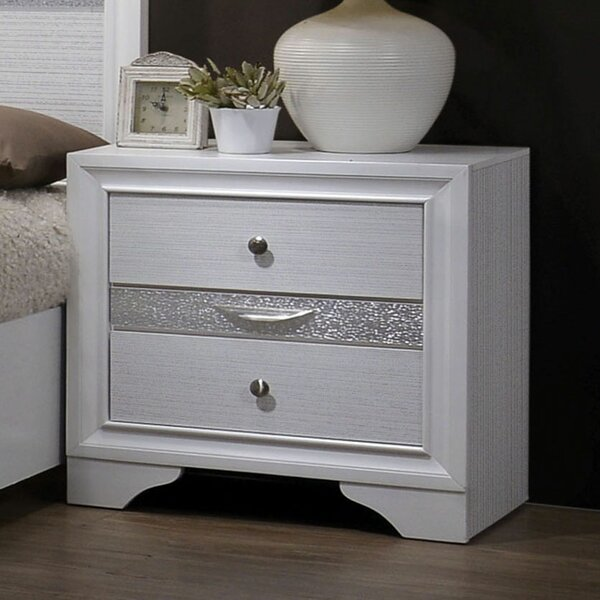 Embree 3 Drawer Nightstand by Mercer41