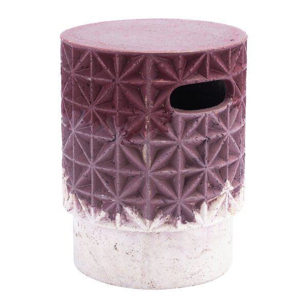 Cherryl Grid Garden Stool By Ebern Designs