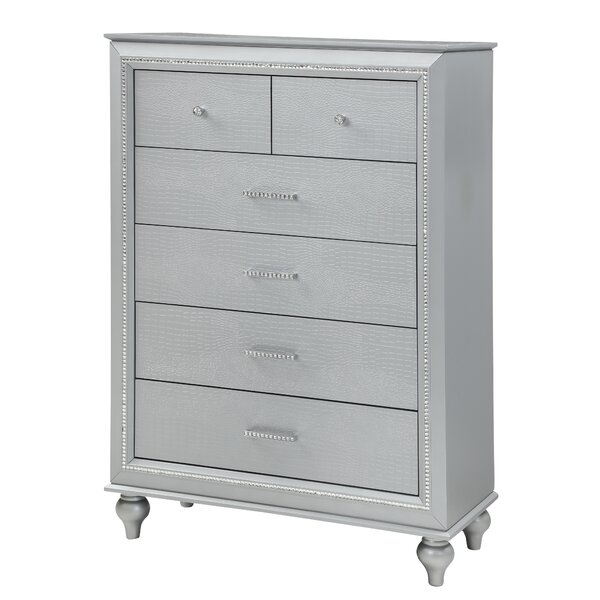 Zeno 5 Drawer Chest by House of Hampton