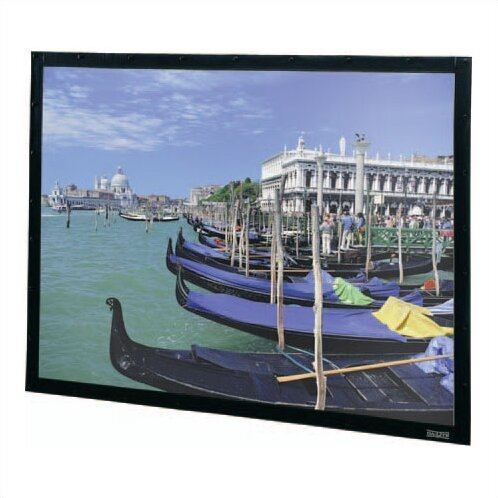 Perm-Wall Fixed Frame Projection Screen by Da-Lite