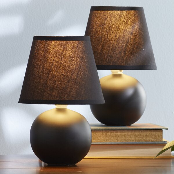 Leah Mini 2 Piece Table Lamp Set (Set of 2) by Viv + Rae