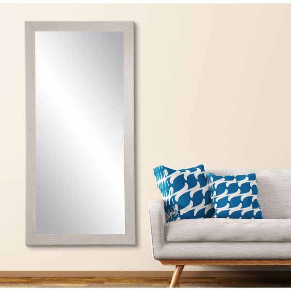 Falmacbreed Wood Grain Full Length Mirror by Highland Dunes