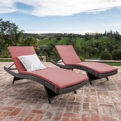 Reclining Outdoor Chaise Lounges Joss Amp Main