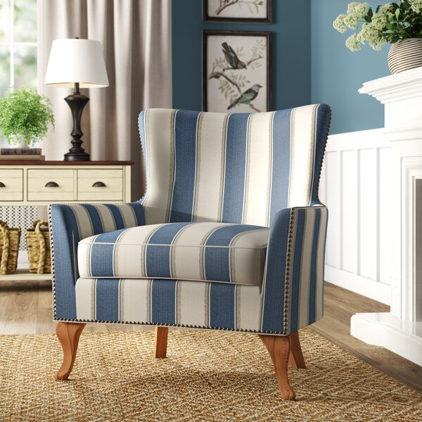 Zubair Wingback Armchair By Birch Lane™ Heritage