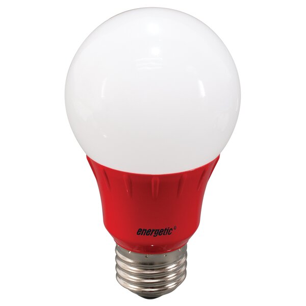 Red Party Light Bulb by Energetic Lighting