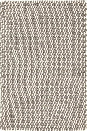 Two-Tone Rope Hand Woven Fieldstone Indoor/Outdoor Area Rug by Dash and Albert Rugs