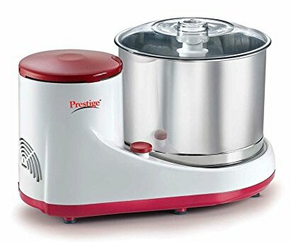 Mantra Wet Stone Food Mill with Attachment by Prestige Cookers