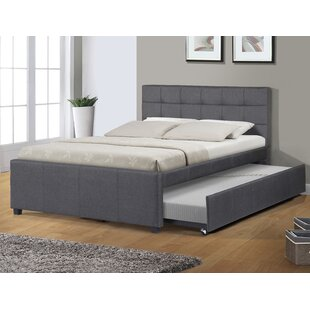 Upholstered Bed With Trundle | Wayfair