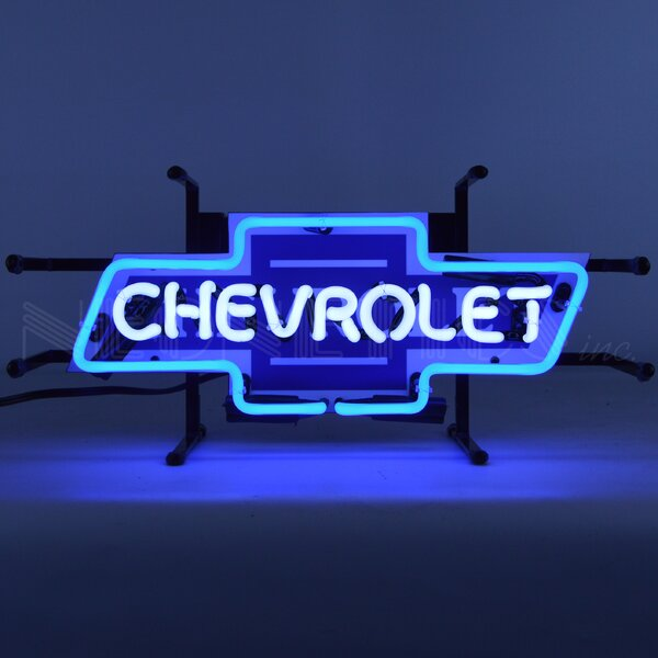 Chevrolet Bowtie Junior Wall Light by Neonetics