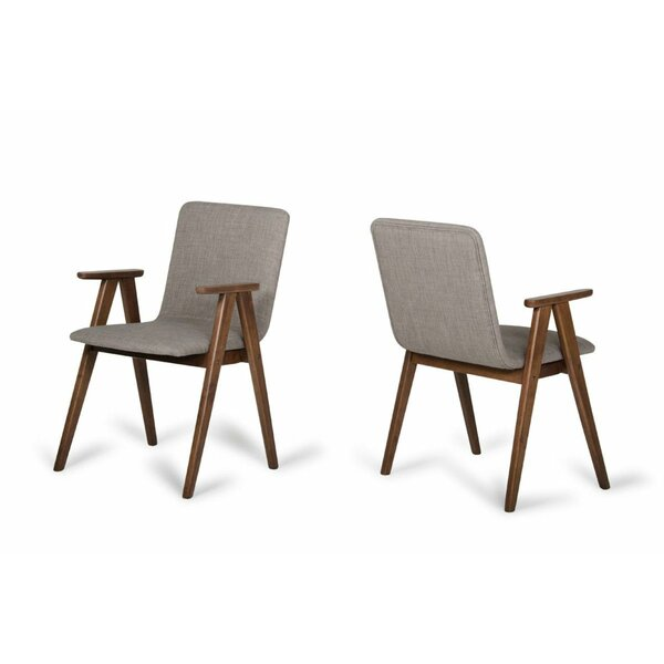 Nikhil Upholstered Dining Chair (Set of 2) by George Oliver