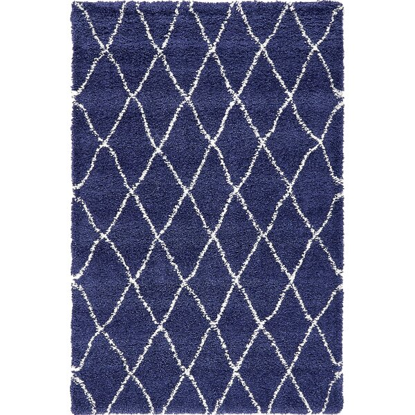 Cynthiana  Navy Blue Area Rug by Red Barrel Studio