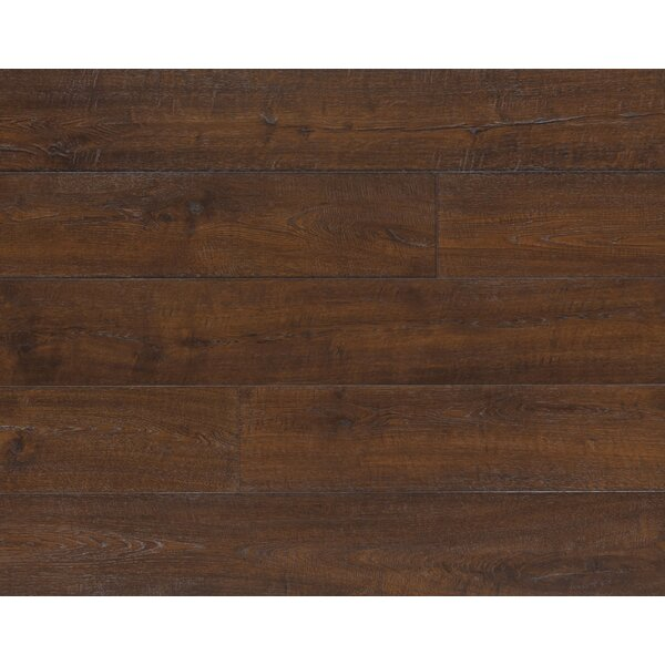 Envique 7.5 x 54.34 x 12mm Oak Laminate Flooring in Dutch Oak by Quick-Step