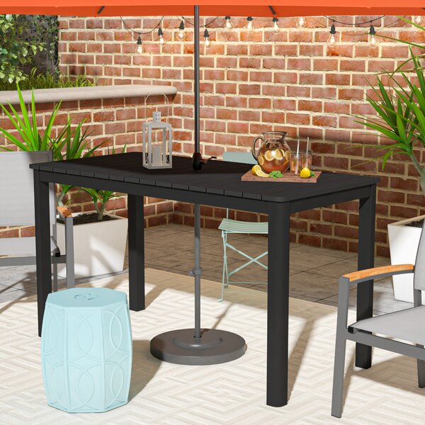 Loesch Plastic/Resin Dining Table by Ivy Bronx