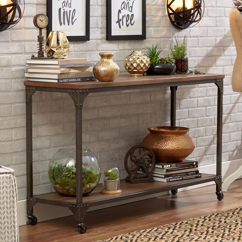 15 Entrance Hall Table Styles To Marvel At: Mercury Row Ioanna Console Table & Reviews
