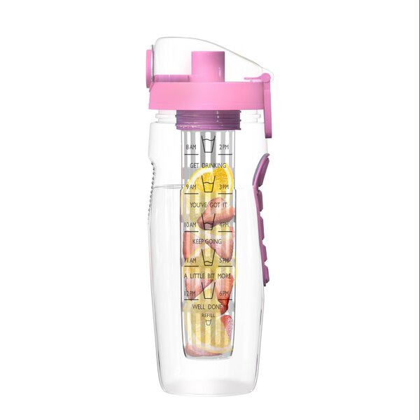 Ciara Infusion 32 oz. Plastic Water Bottle by Rebrilliant