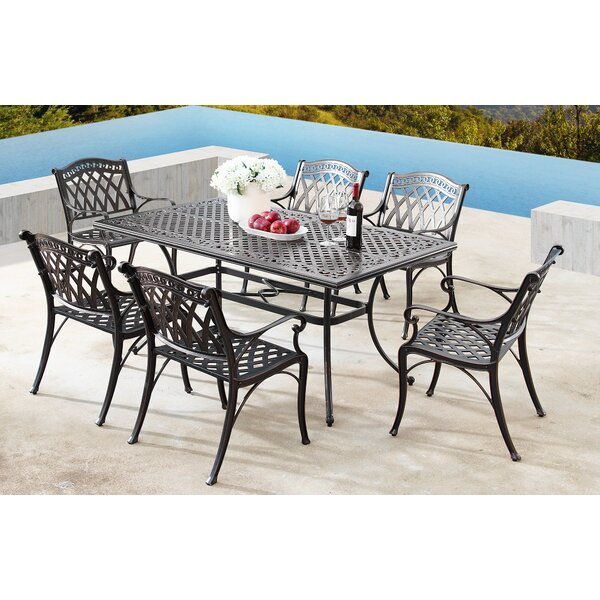 Mcclay 7 Piece Dining Set By Canora Grey by Canora Grey Cheap