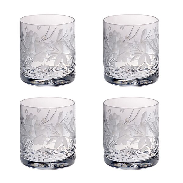 Victoria 14 oz. Crystal Cocktail Glasses (Set of 4) by Majestic Crystal