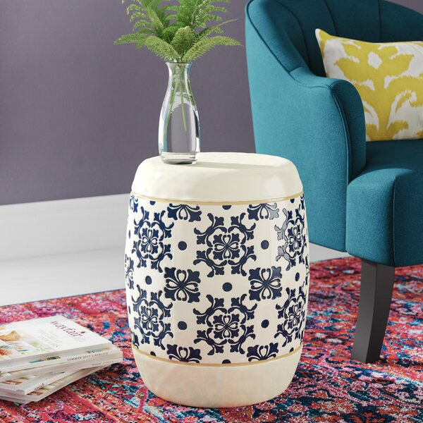 Deverel Garden Stool by Mistana