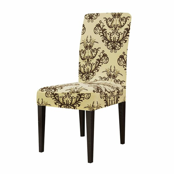 Printed Stretch Dining Chair Slipcover By Winston Porter