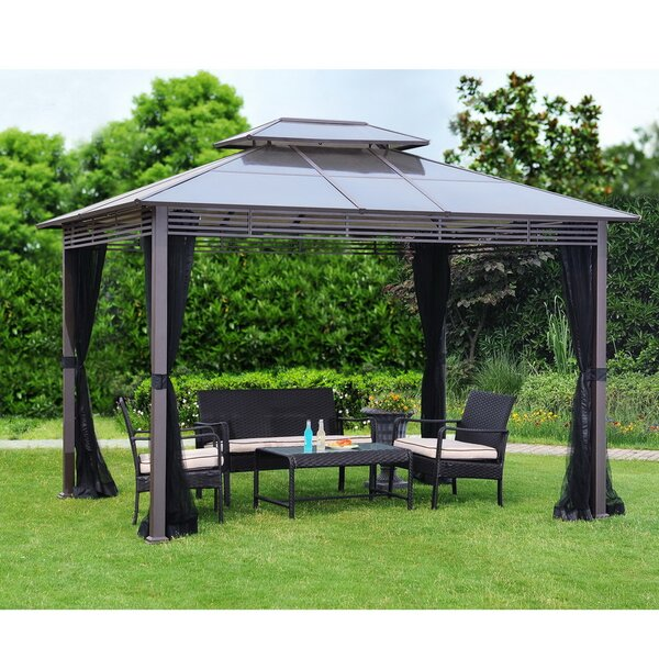 Replacement Mosquito Netting for Bramford Hard Top Gazebo by Sunjoy